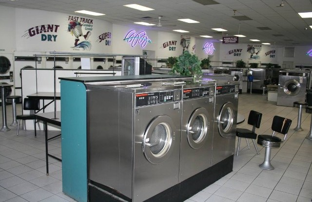 Machines Inside Laundry Center